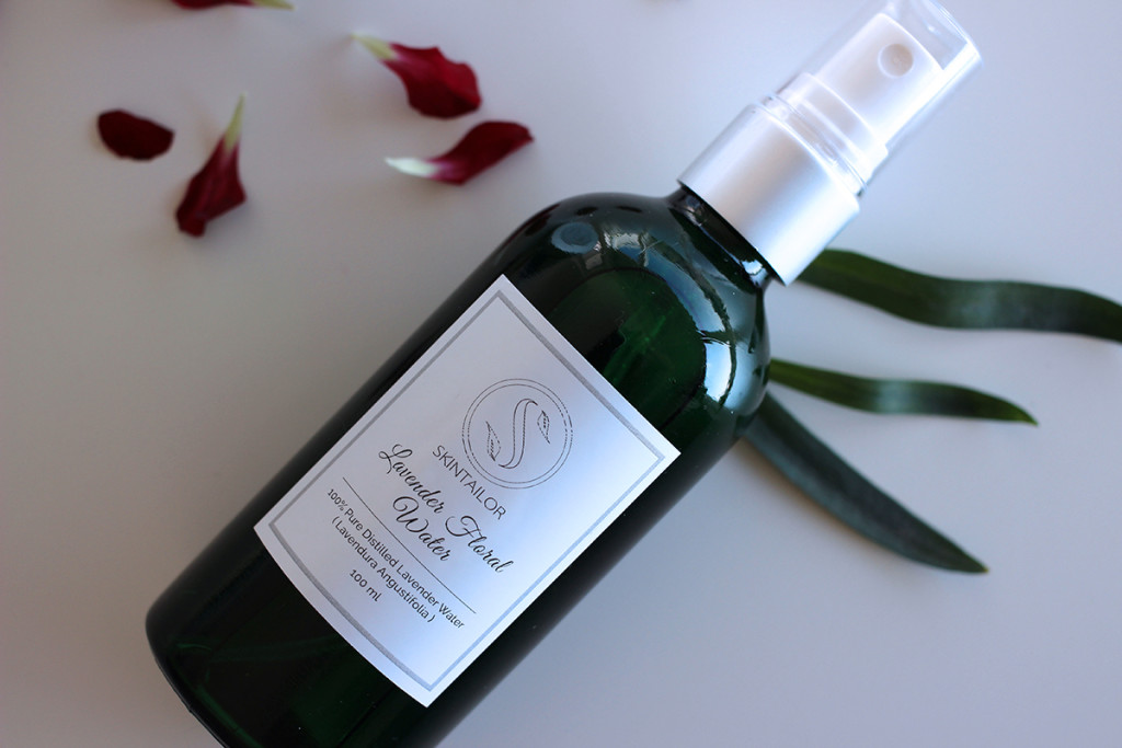 SkinTailor Review Giveaway Organic Lavender Water Fashion Confession