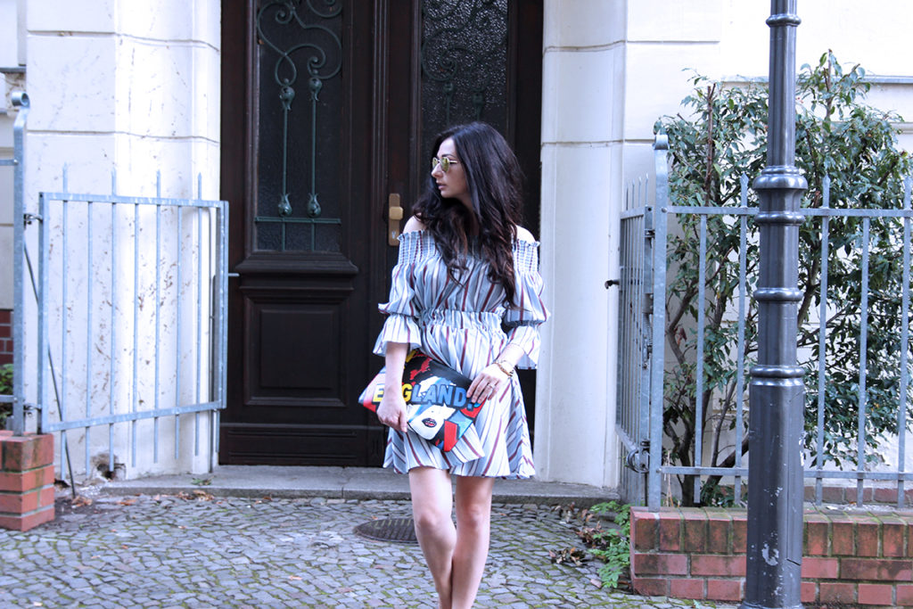 OOTD ODE ENGLAND, ODE TO ENGLAND LOOK SAMMY DRESS FASHION CONFESSION BY ELIZA ARMAND, FASHION BLOGGER, BEAUTY BLOGGER, MAKEUPBLOGGER, SKINCARE www.fashion-confession.com
