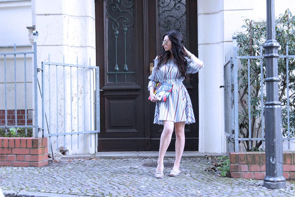 ODE TO ENGLAND LOOK SAMMY DRESS FASHION CONFESSION BY ELIZA ARMAND, FASHION BLOGGER, BEAUTY BLOGGER, MAKEUPBLOGGER, SKINCARE www.fashion-confession.com