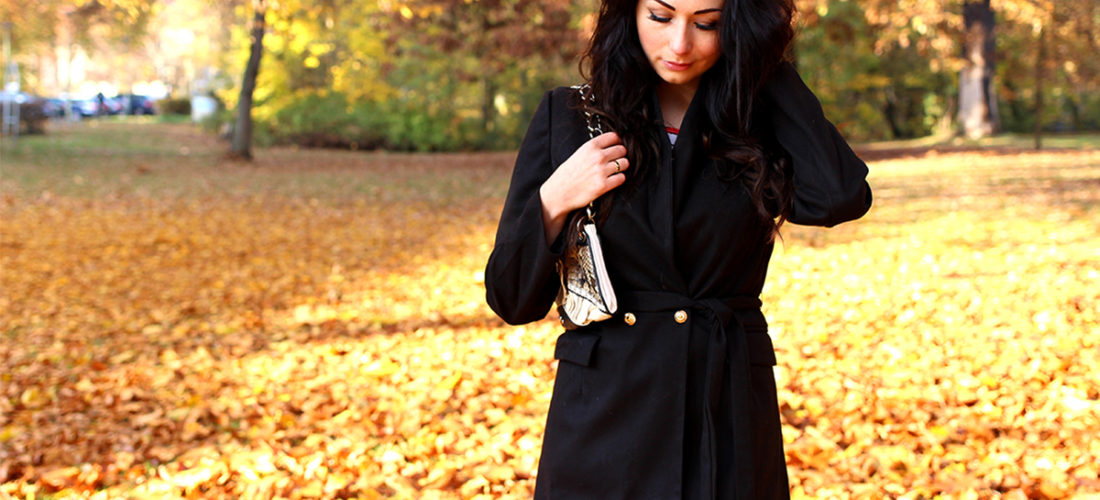 BLACK COAT   OUTFIT OF THE DAY