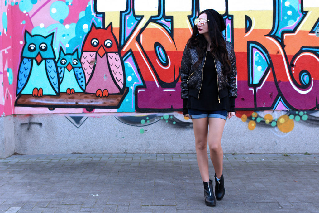 MODERN GRUNGE LOOK FASHION CONFESSION BY ELIZA ARMAND, FASHION BLOGGER, BEAUTY BLOGGER, MAKEUPBLOGGER, SKINCARE www.fashion-confession.com